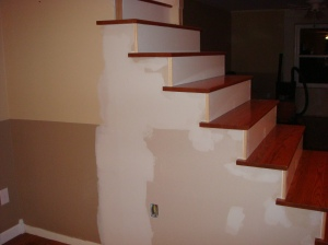 Remodelaholic From Carpet To Wooden Stair Treads Guest