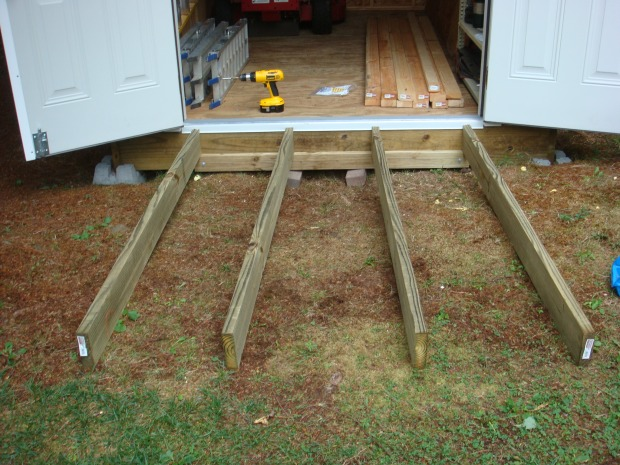 Diy Build Wood Ramp For Shed Wooden Pdf Log Dog Bed Plans