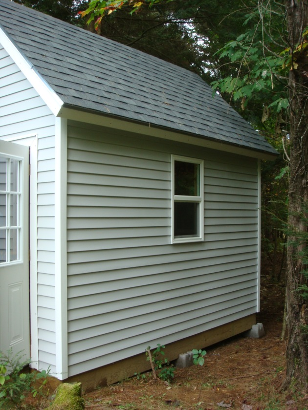 Tifany Blog Get How To Build A Vinyl Siding Shed
