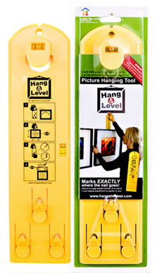Fun New Picture Hanging Tool Handy Man Crafty Woman